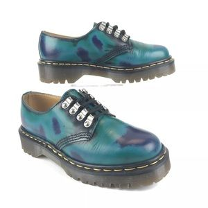 Dr Martens Tunnel Eye Oxford Shoes Rare